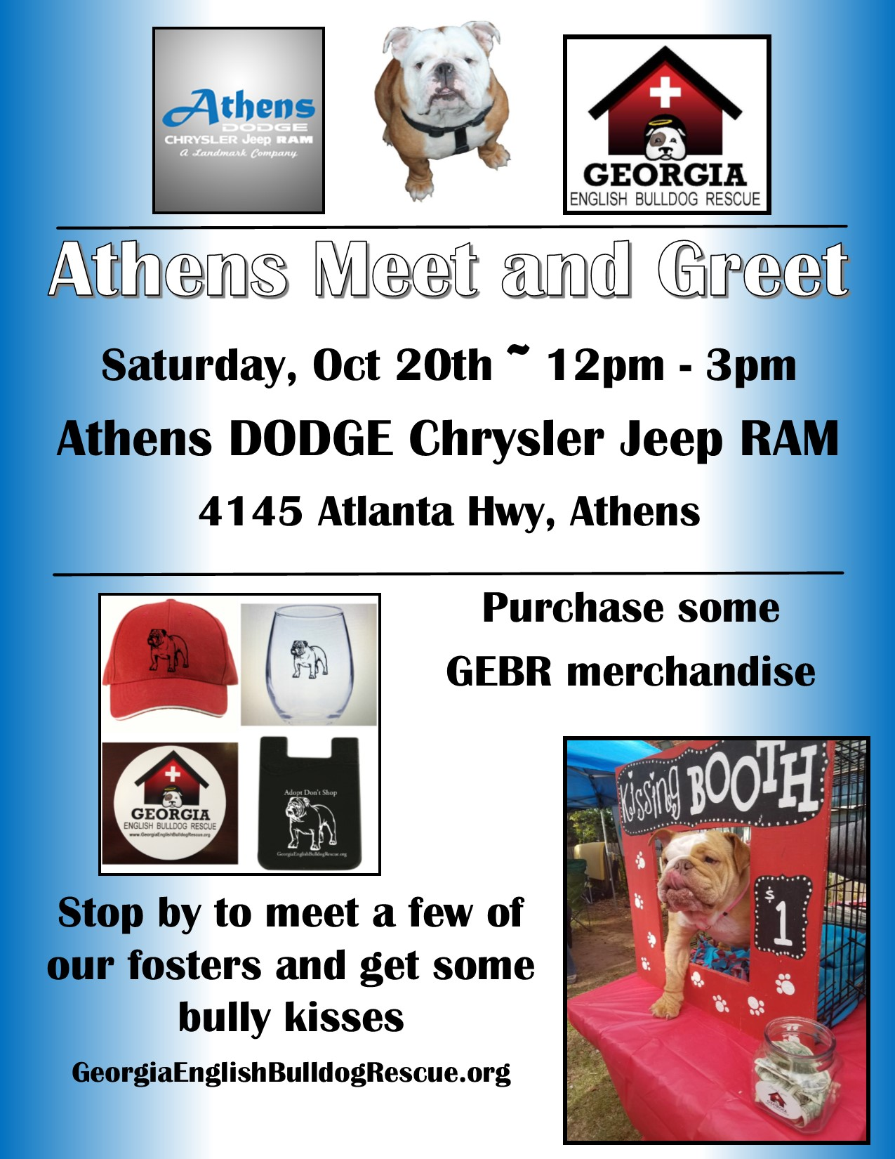 Athens Meet And Greet Georgia English Bulldog Rescue